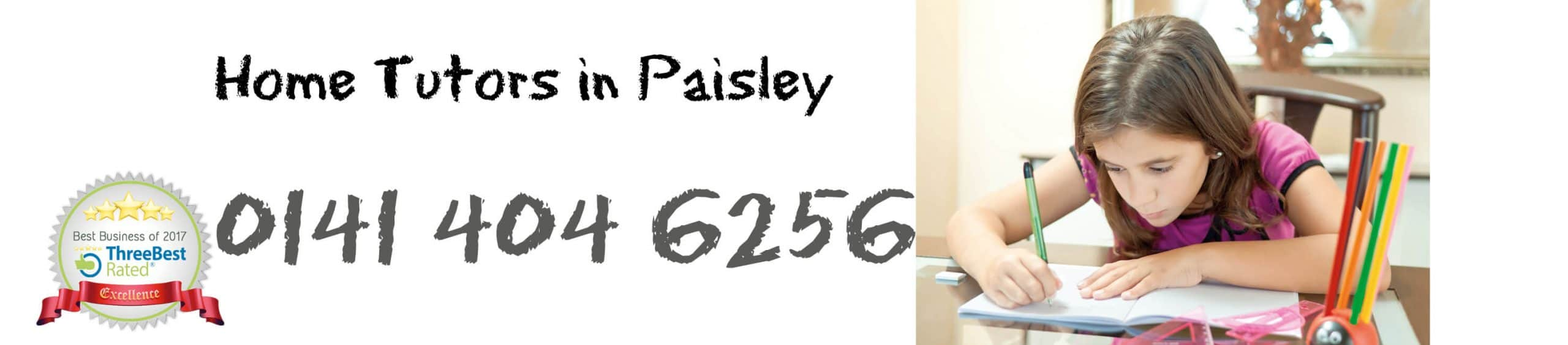 Home Tutors in Paisley